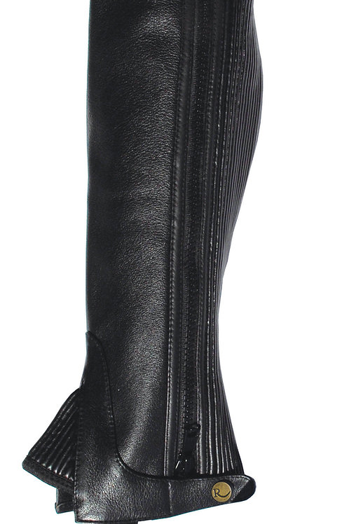 Rhinegold Adult Leather Gaiters BROWN