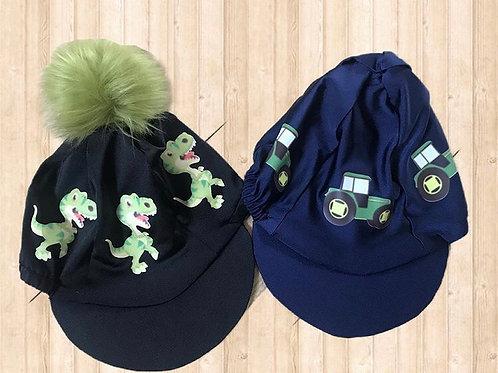 Dino/tractor hat silk