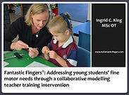 Research on fine motor skills and Fantastic Fingers