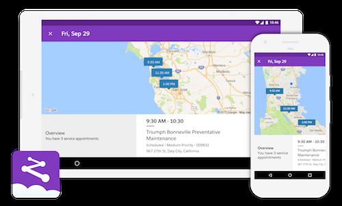 Salesforce Field Service Lightning - the Mobile App