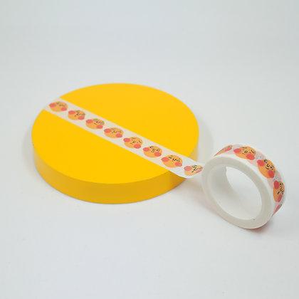 黃色圓咕碌 / washi paper tape