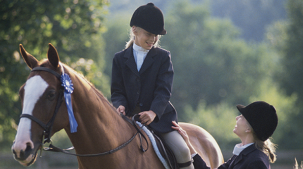 Dever Saddlery Young Horse Rider