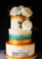 antique wedding cake brighter logo in mi