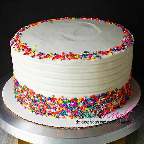 Southern Vanilla Cake