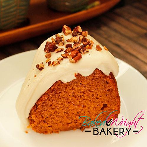 Maple Pecan Pumpkin Cake