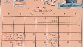 2020年1月のレッスン日程