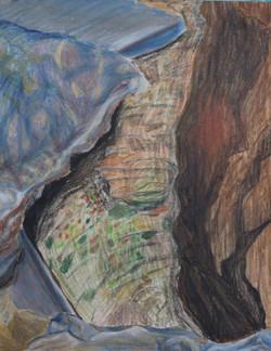 Close-Up Rocks and Stream