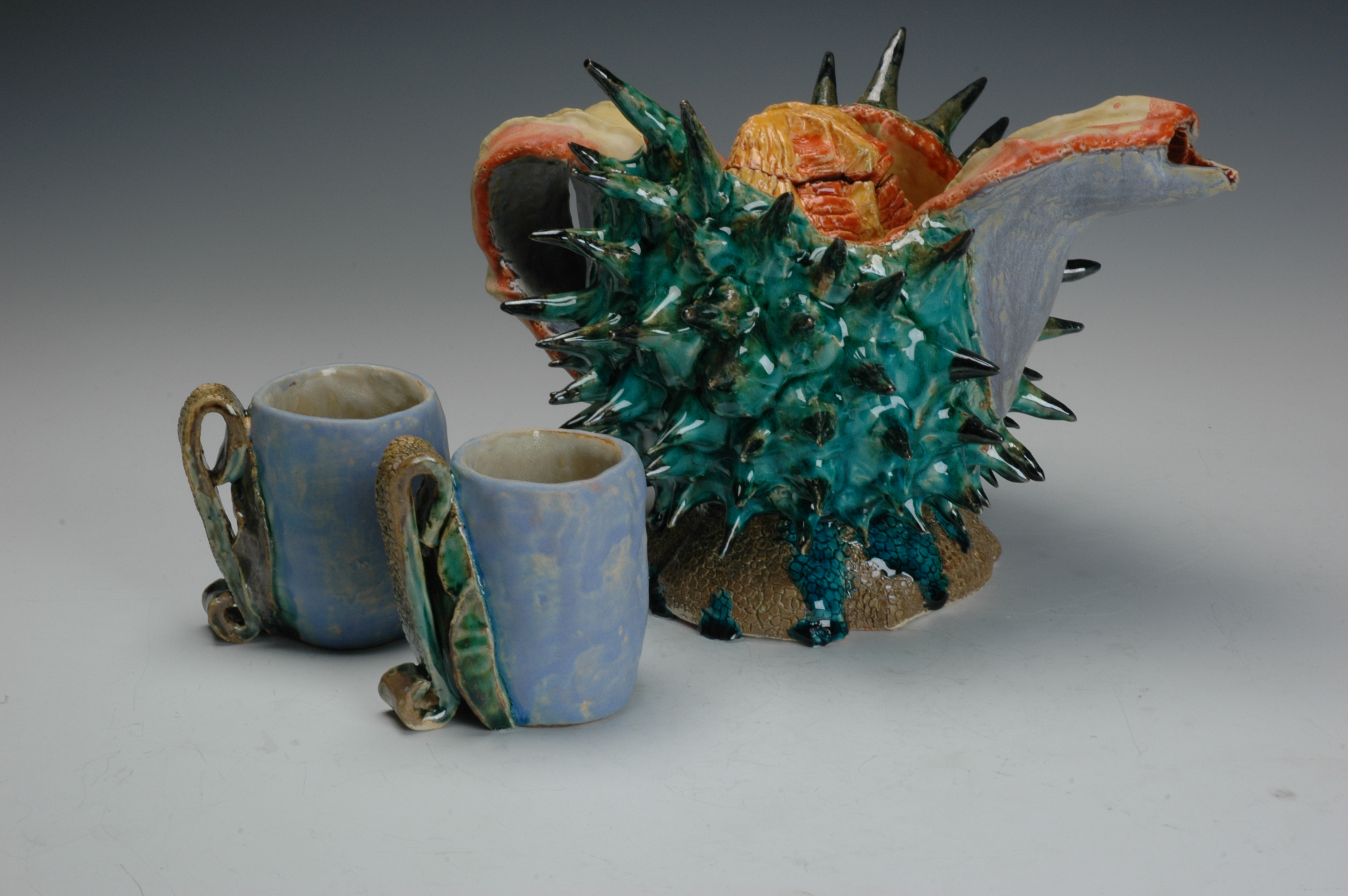 Seedpod Teapot
