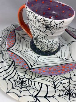 Spiderweb Place setting