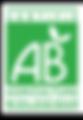 Logo AB label français Agriculture Biologique terdézom
