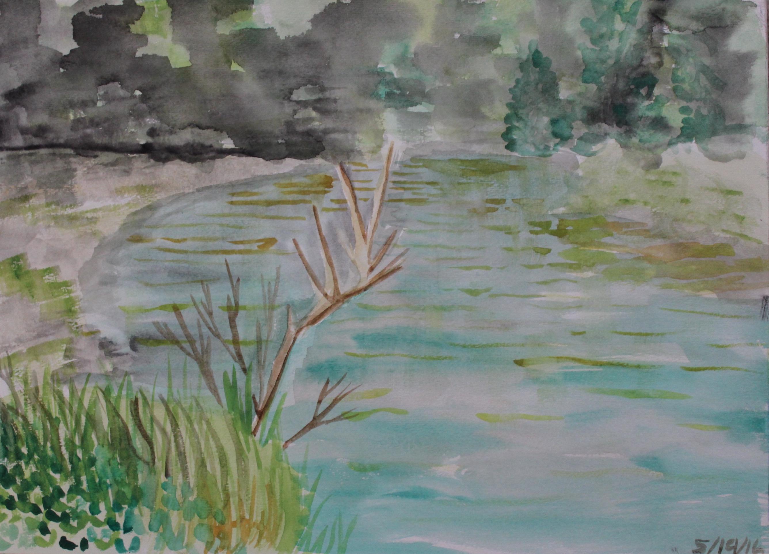 Moss Lake Overcast
