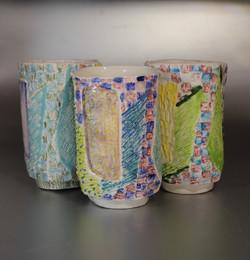group of mugs