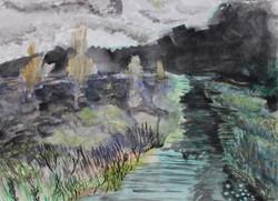 Moss Lake Stormy Weather