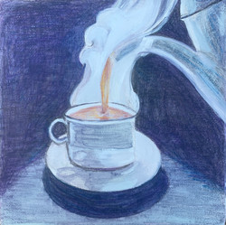 Little Coffee Painting