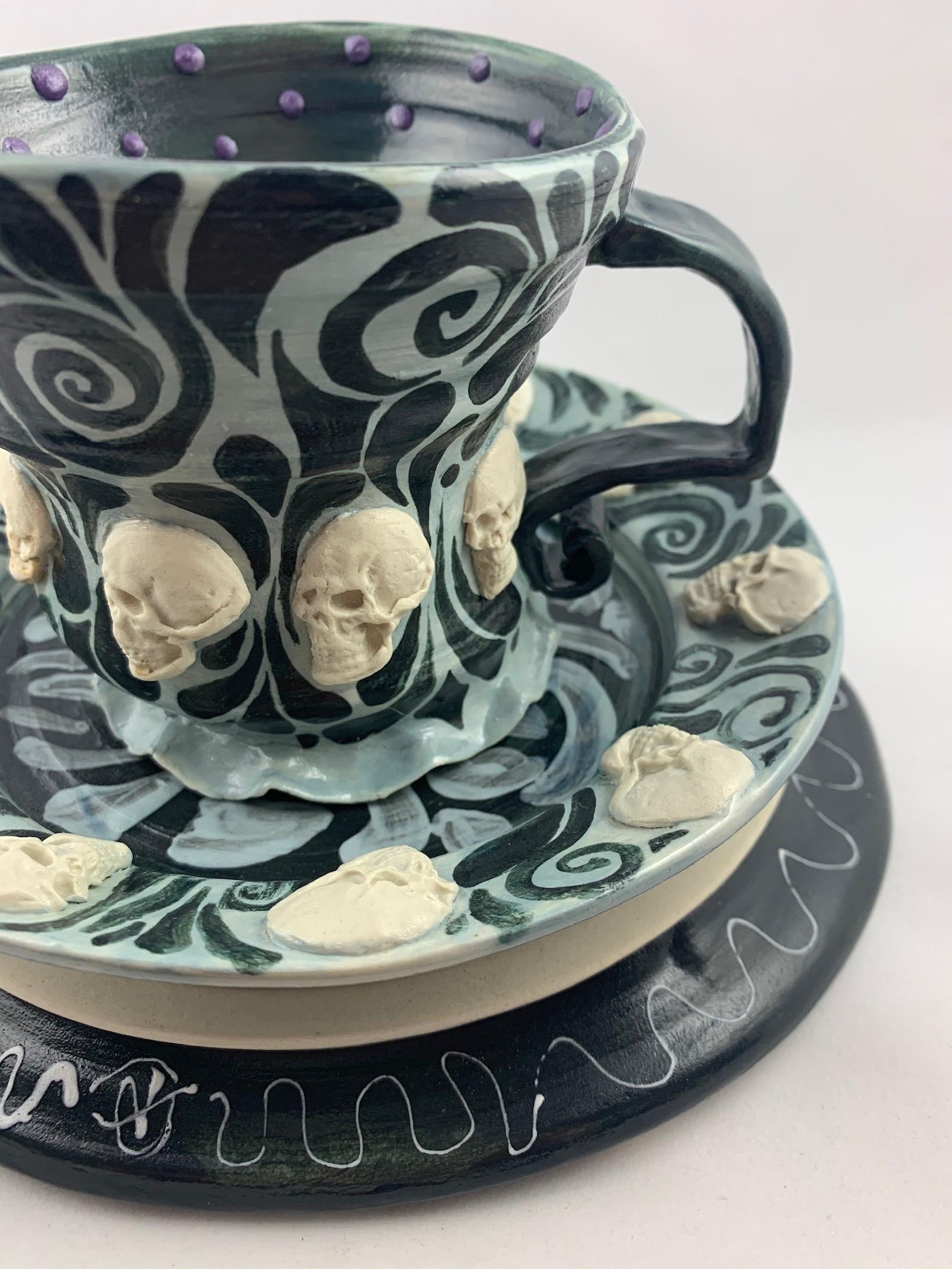 Gothic Skull Pattern