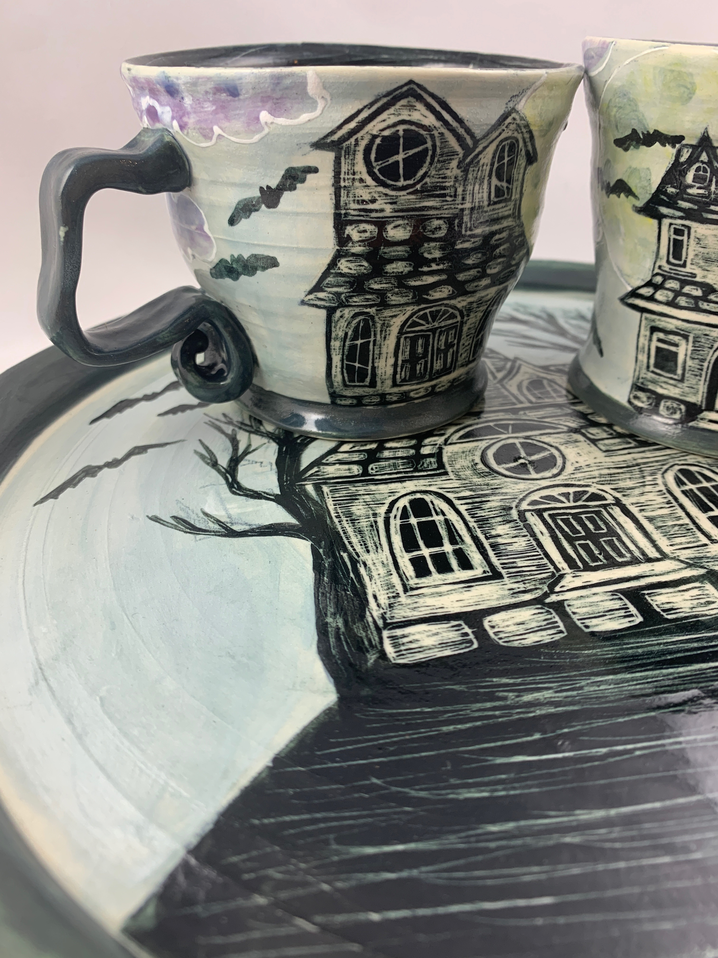 Haunted House Place Setting