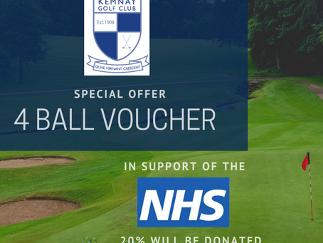 4 Ball Voucher | Supporting the NHS