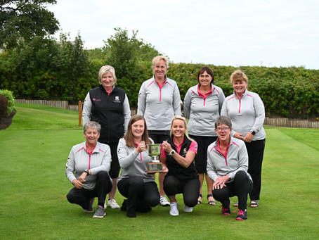 Kemnay Ladies win Robertson Challenge Cup!