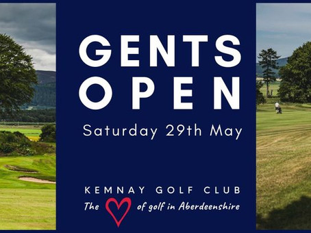 Gents Open Results | 29th May 2021