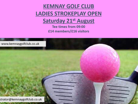 Ladies Strokeplay Open - results