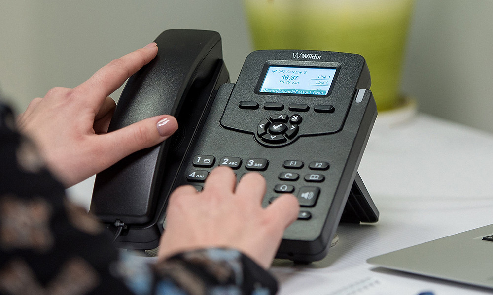 The WP410, the basic office phone