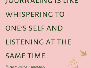 Journaling as Self Care - 5 tips to build your own practice