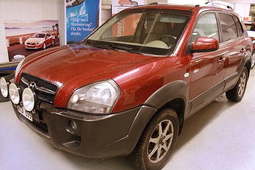 Hyundai Tucson 2,0 4WD Dragkrok Skinn(SÅLD)