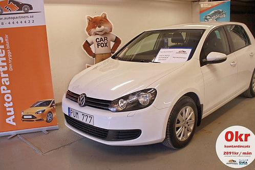 Volkswagen Golf 1.4 TSI 4400mil (SÅLD)