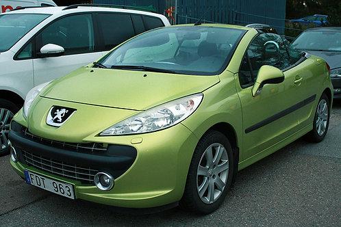 Peugeot 207 CC 1,6VTi (SÅLD)