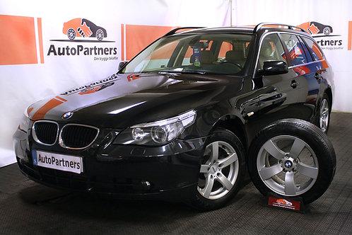 BMW 525i AUT 192hk Skinn (SÅLD)