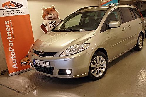 Mazda 5 2.0 (7300mil) 7-sits / Drag (SÅLD)