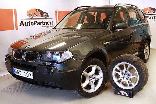 BMW X3 2.0D xDrive Drag Rattvä(SÅLD)