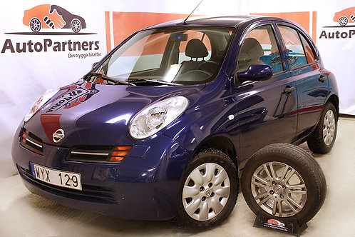 Nissan Micra 1.2 5dr Nybes Nyser (SÅLD)-05