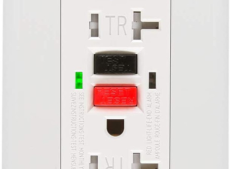 Helpful Home Maintenance: Resetting a breaker and GFI outlet