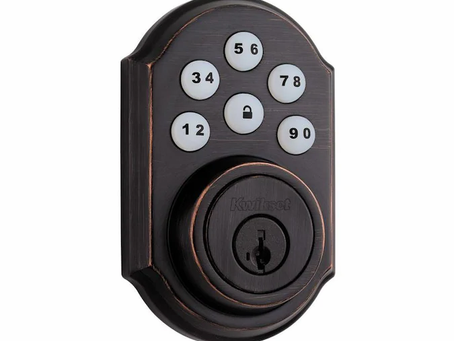 Helpful Home Maintenance: Using a Quickset Digital Deadbolt