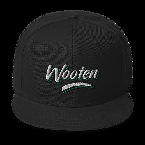 Wooten - Black Snapback Hat