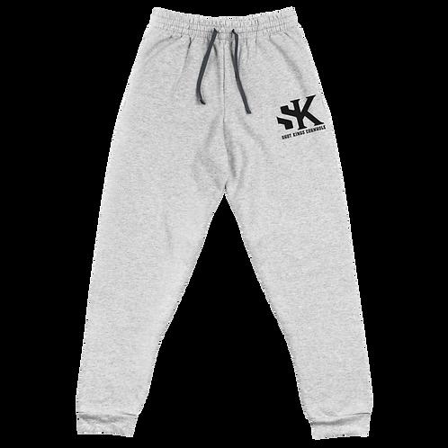 Shot Kings Cornhole Black Men's Unisex Joggers - Black Thread
