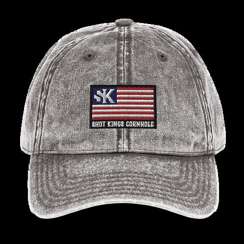 SK Nation Vintage Cotton Twill Cap