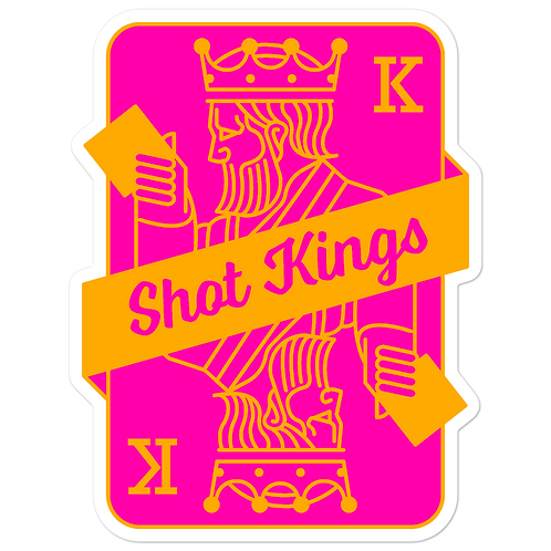 SK Orange and Pink - Bubble-free stickers
