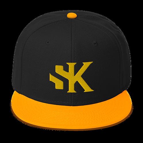 SK Yellow Logo Yellow Brim - AccSnapback Hat