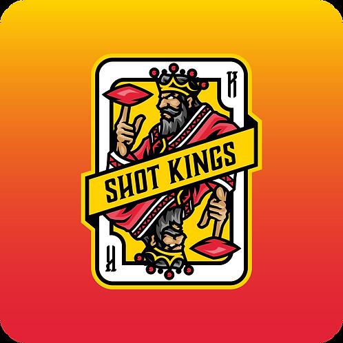 Shot Kings Cornhole Sunrise Orange- By Reynolds Bags