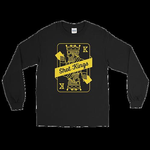 Shot Kings Classic Yellow Card - Long Sleeve Shirt