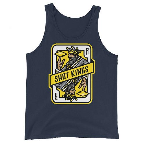 Shot Kings Cornhole Yellow Card - Unisex Tank Top