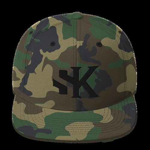 SK Camo - Snapback Hat