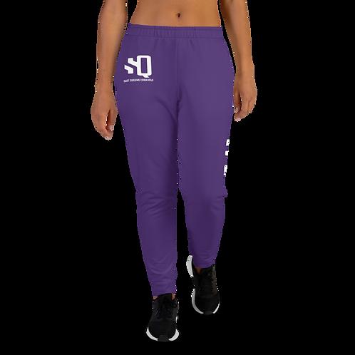 Shot Queens Cornhole Dynasty - Purple Women's Joggers