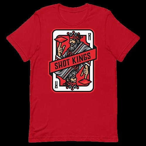 Red Shot King 2.0 Short-Sleeve Unisex T-Shirt