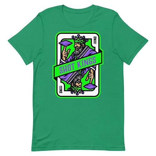 Emerald Mist Green King Short-Sleeve Unisex T-Shirt