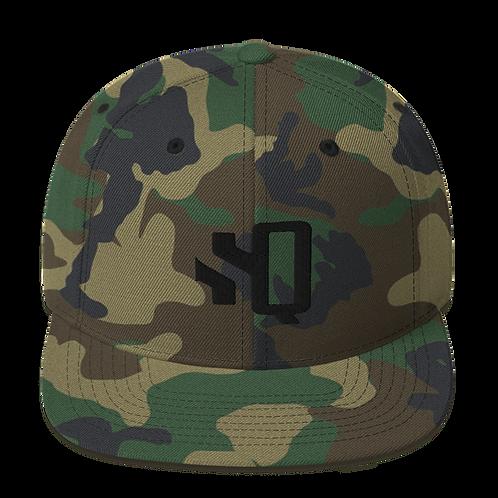 SQ Camo - Snapback Hat