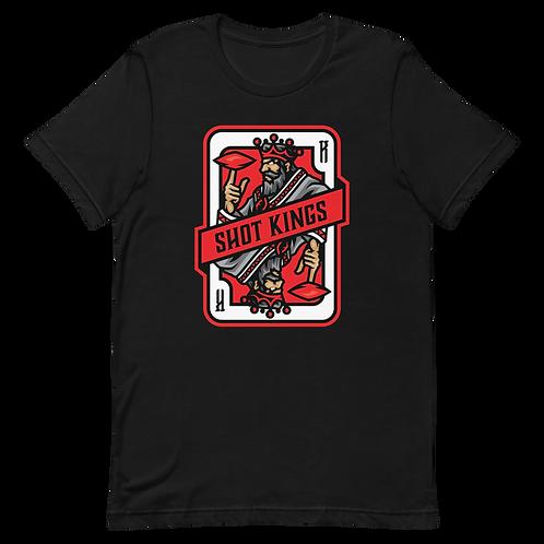 Shot Kings Cornhole 2.0 Red - Short-Sleeve Unisex T-Shirt