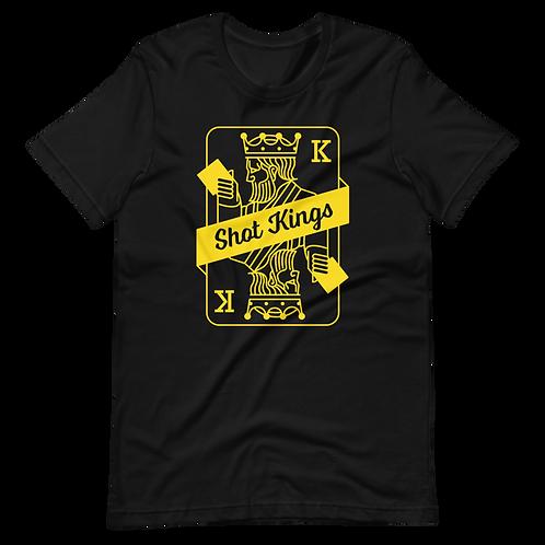Shot Kings Classic Yellow Card - Short-Sleeve Unisex T-Shirt
